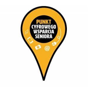Logotyp Punkt Cyfrowego Wsparcia Seniora