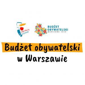 napis Budżet obywatelski w Warszawie