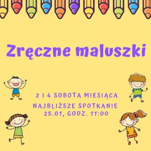 Zajęcia dla dzieci w wieku od 2 do 6 lat