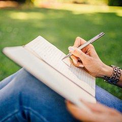 pisanie w zeszycie