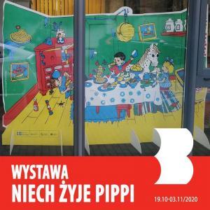 Wystawa Niech żyje Pippi!