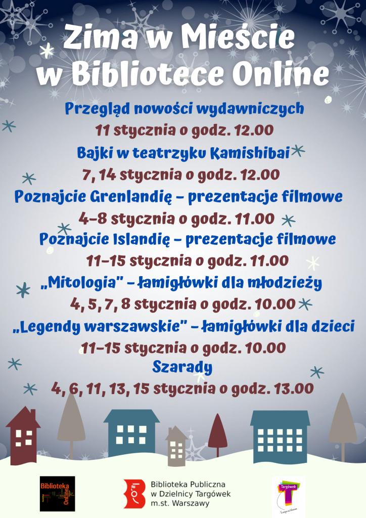 plakat - Zima w MieÅ›cie w Bibliotece Online