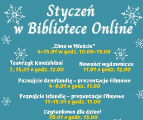 biblioteka online w styczniu